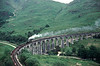 K1 2005 crossing Glenfinnan viaduct  26/6/88